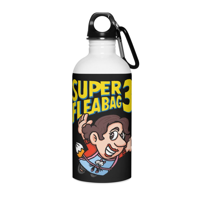 Super Fleabag 3 Accessories Water Bottle by Rodrigobhz