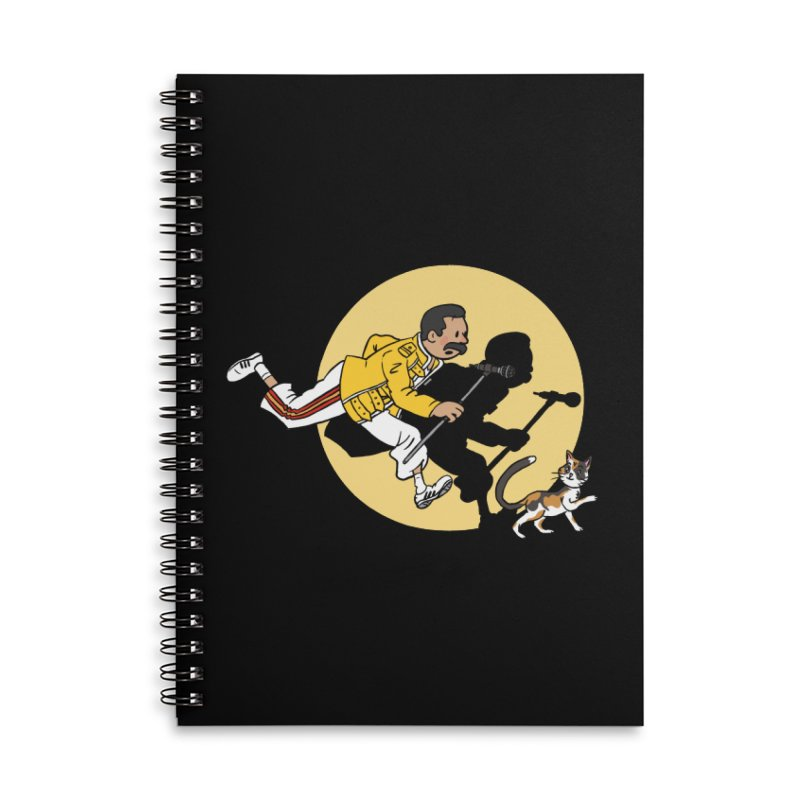 The Adventures of Freddie Accessories Lined Spiral Notebook by Rodrigobhz