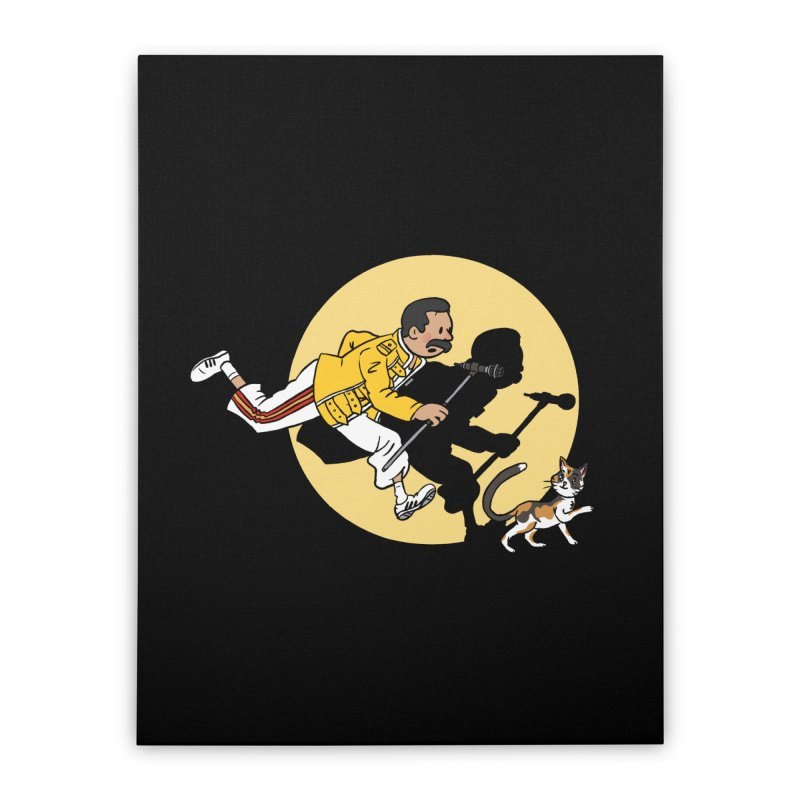 The Adventures of Freddie Home Stretched Canvas by Rodrigobhz