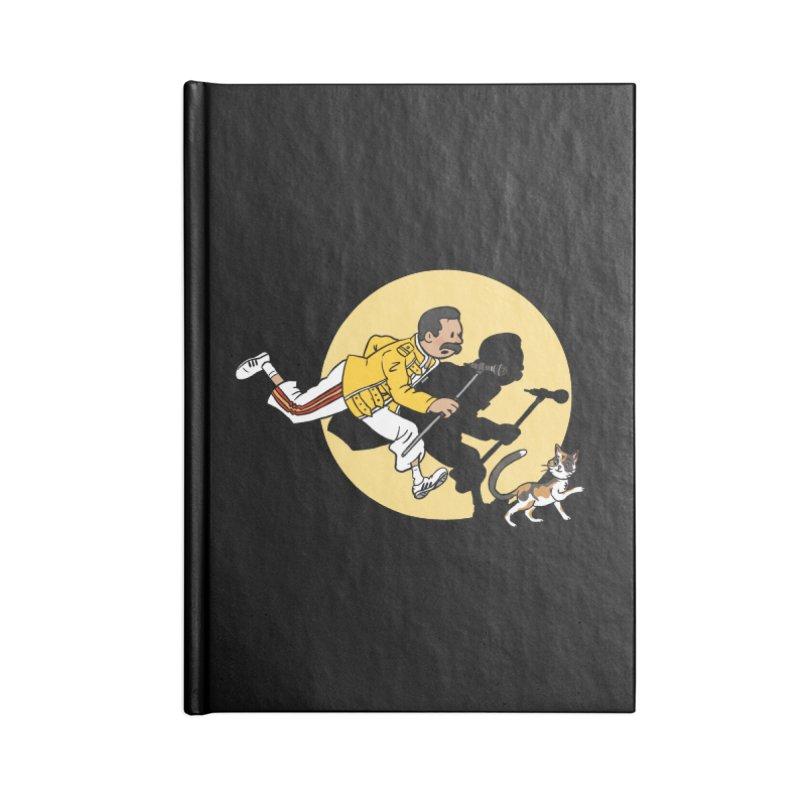 The Adventures of Freddie Accessories Blank Journal Notebook by Rodrigobhz