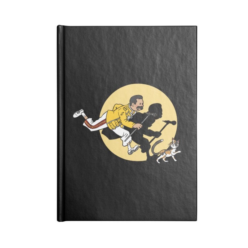 The Adventures of Freddie Accessories Lined Journal Notebook by Rodrigobhz