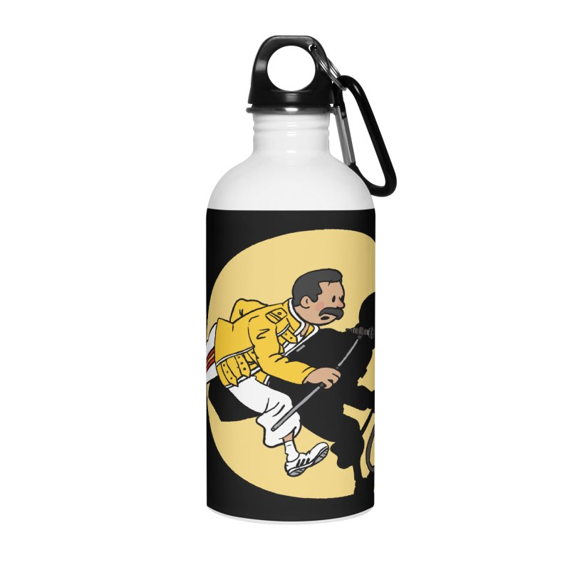 The Adventures of Freddie Accessories Water Bottle by Rodrigobhz