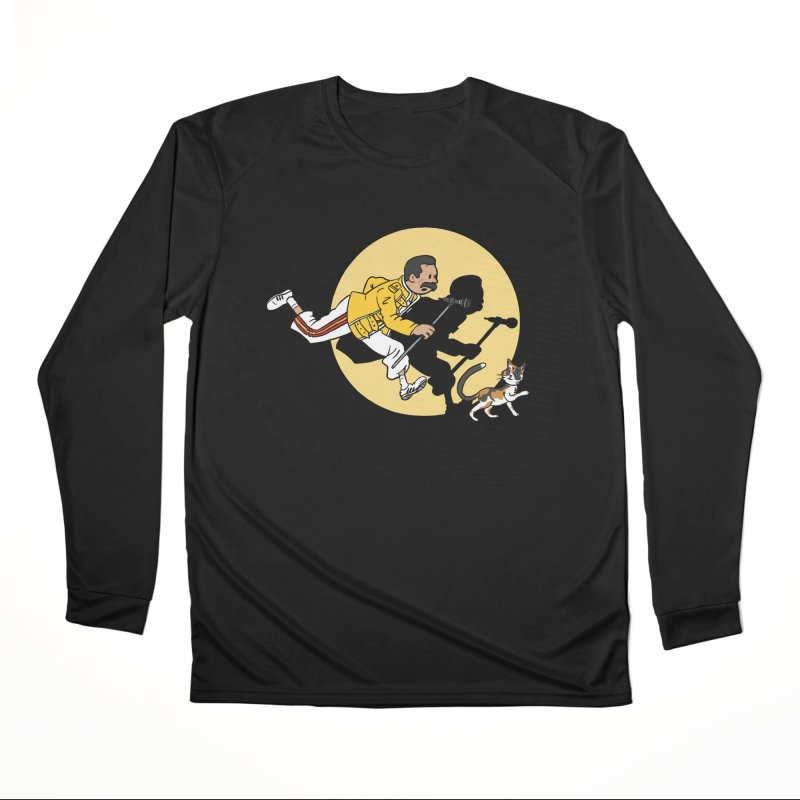 The Adventures of Freddie Men's Performance Longsleeve T-Shirt by Rodrigobhz