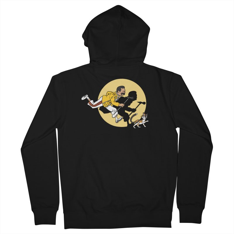 The Adventures of Freddie Men's French Terry Zip-Up Hoody by Rodrigobhz