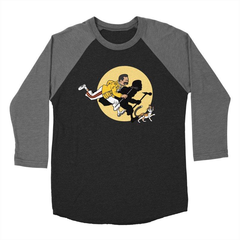 The Adventures of Freddie Men's Baseball Triblend Longsleeve T-Shirt by Rodrigobhz