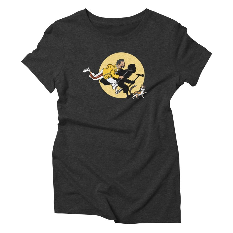 The Adventures of Freddie Women's Triblend T-Shirt by Rodrigobhz