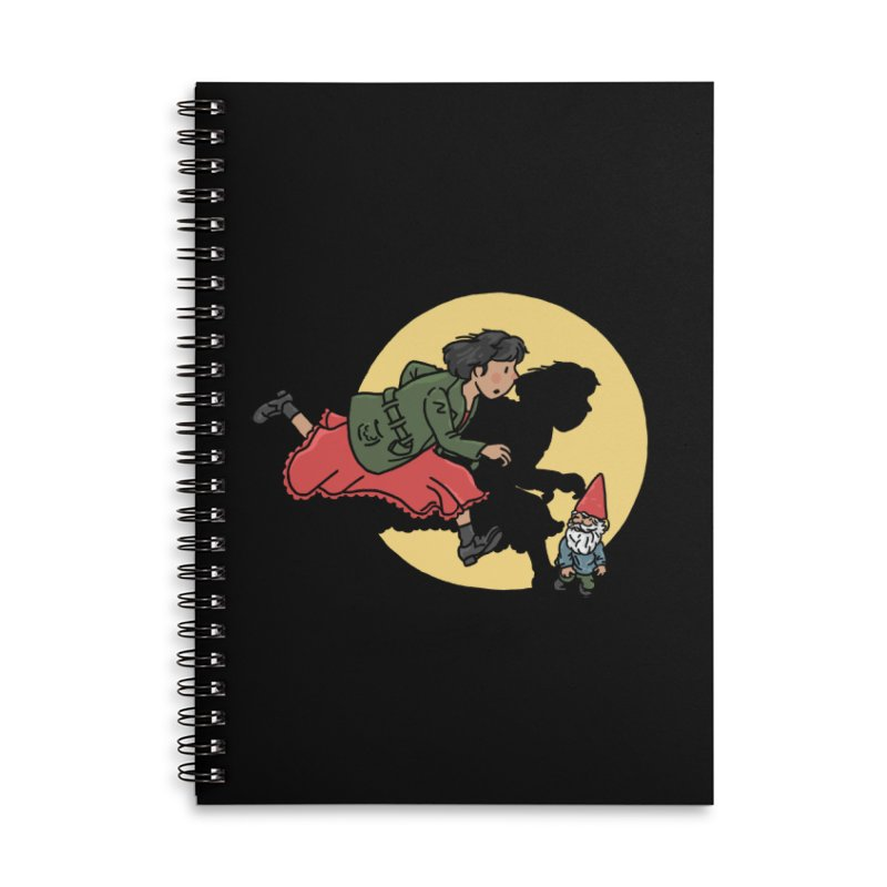 The Adventures of Amélie Accessories Lined Spiral Notebook by Rodrigobhz