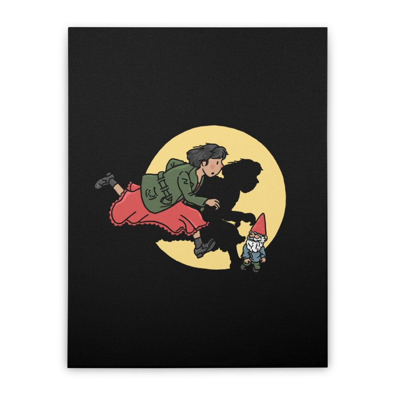 The Adventures of Amélie Home Stretched Canvas by Rodrigobhz
