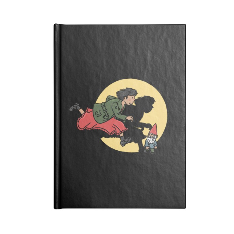 The Adventures of Amélie Accessories Lined Journal Notebook by Rodrigobhz