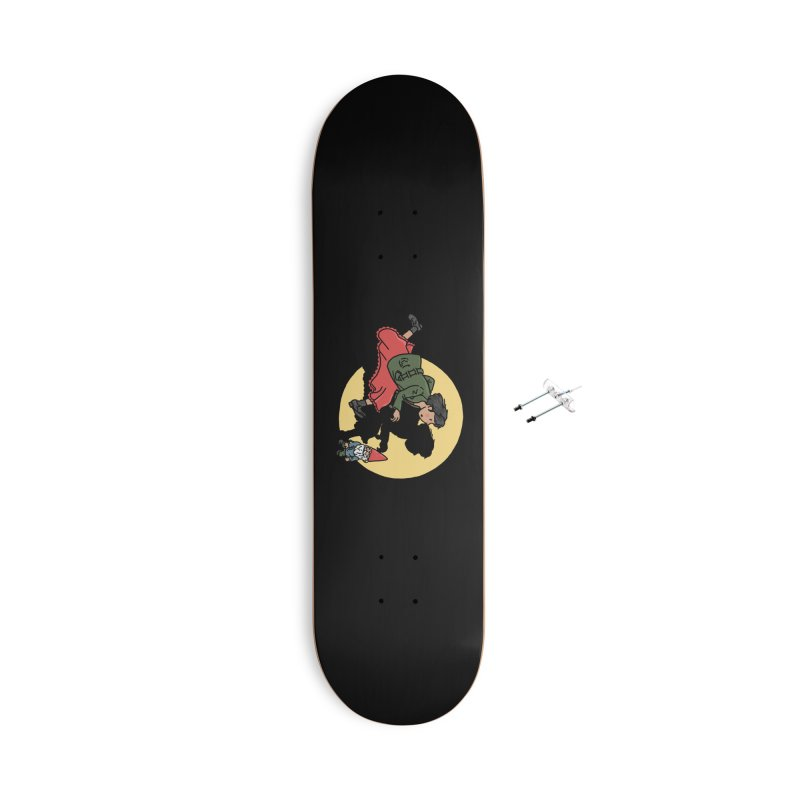 The Adventures of Amélie Accessories With Hanging Hardware Skateboard by Rodrigobhz