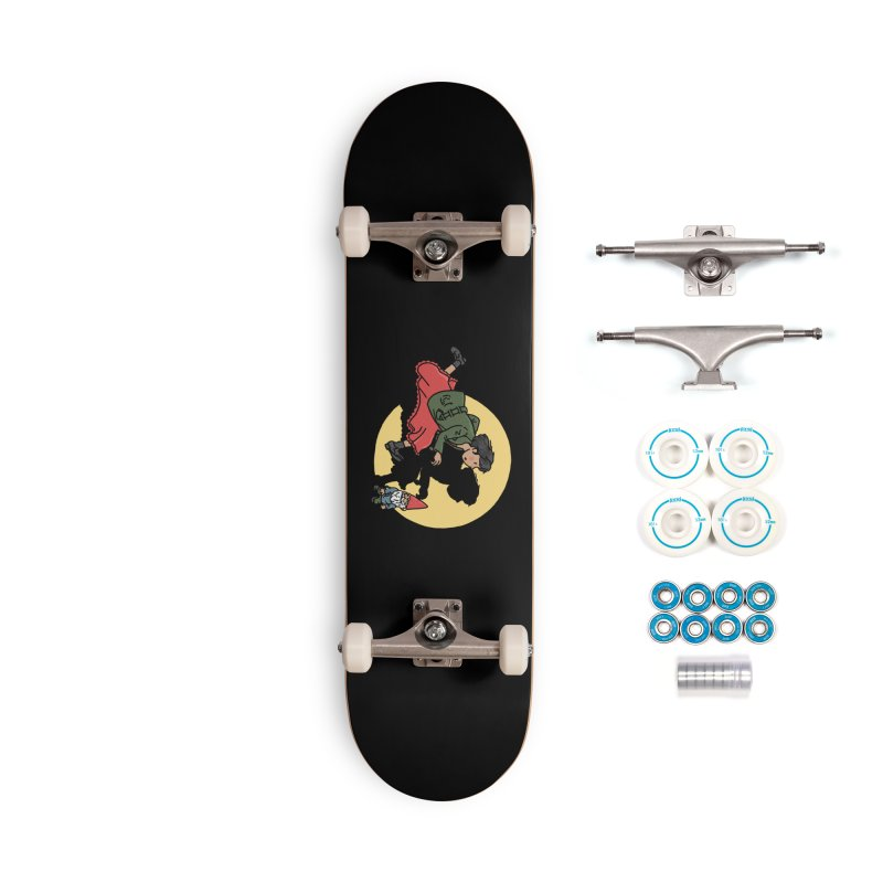 The Adventures of Amélie Accessories Complete - Basic Skateboard by Rodrigobhz