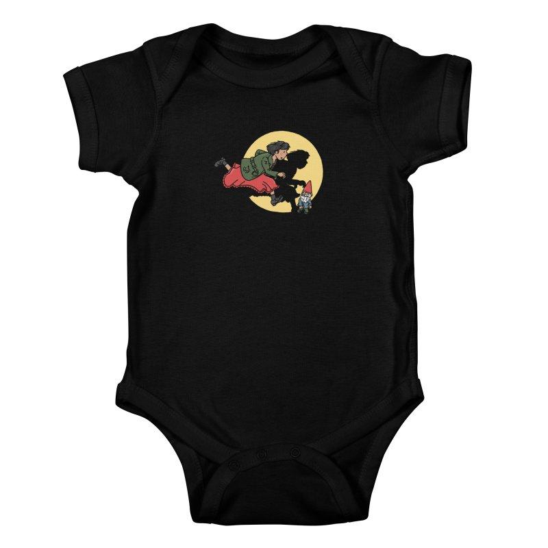 The Adventures of Amélie Kids Baby Bodysuit by Rodrigobhz