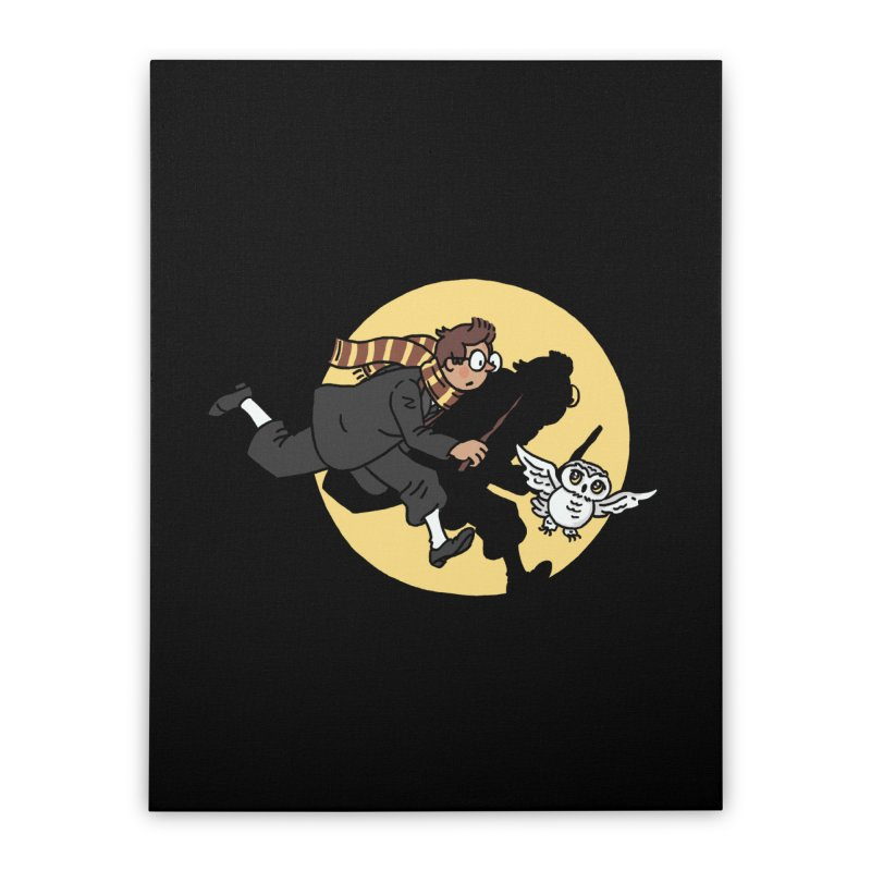 The Adventures of Harry Home Stretched Canvas by Rodrigobhz