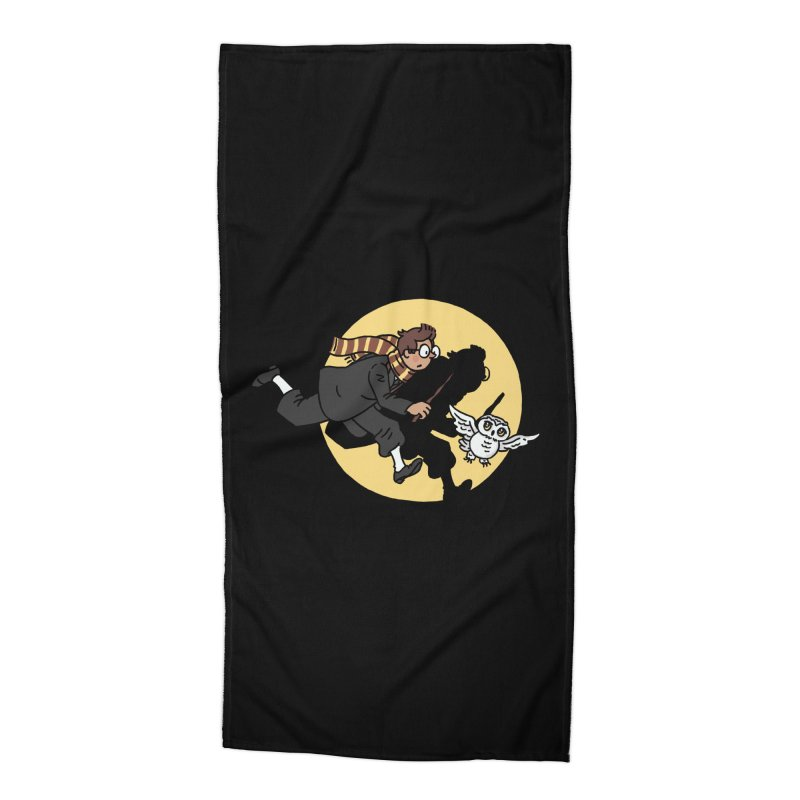 The Adventures of Harry Accessories Beach Towel by Rodrigobhz