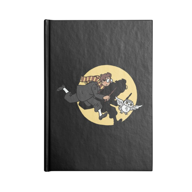 The Adventures of Harry Accessories Lined Journal Notebook by Rodrigobhz