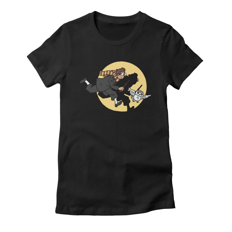 The Adventures of Harry Women's Fitted T-Shirt by Rodrigobhz