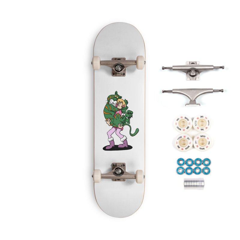 Ruh-roh! Accessories Complete - Premium Skateboard by Rodrigobhz