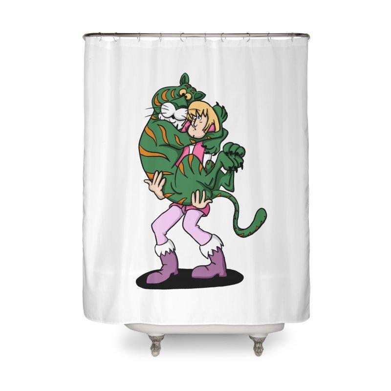 Ruh-roh! Home Shower Curtain by Rodrigobhz