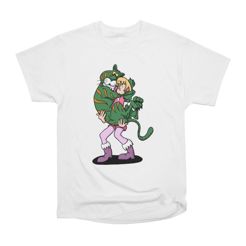 Ruh-roh! Women's Heavyweight Unisex T-Shirt by Rodrigobhz