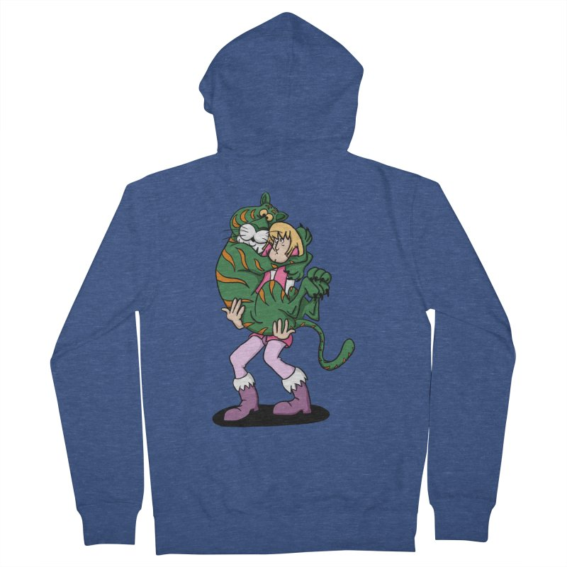 Ruh-roh! Men's French Terry Zip-Up Hoody by Rodrigobhz