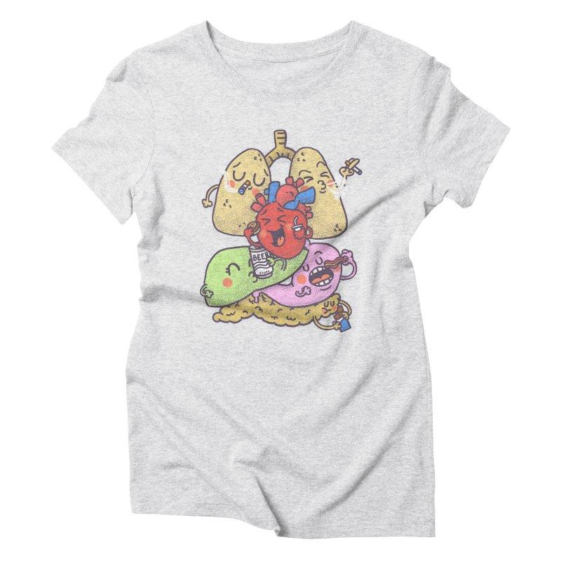 Bad habits Women's Triblend T-Shirt by Rodrigobhz