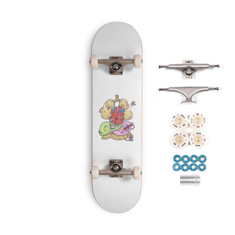 Bad habits Accessories Complete - Premium Skateboard by Rodrigobhz