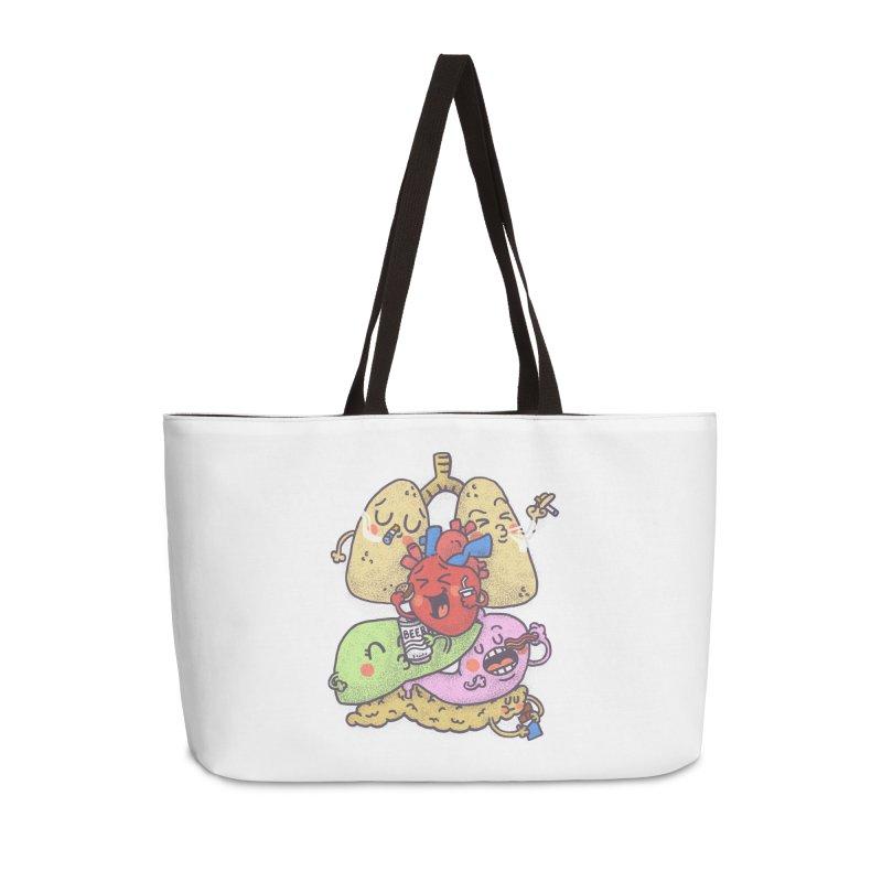 Bad habits Accessories Weekender Bag Bag by Rodrigobhz