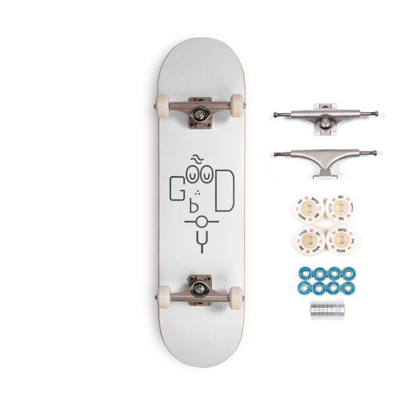 Good boy Accessories Complete - Premium Skateboard by Rodrigobhz