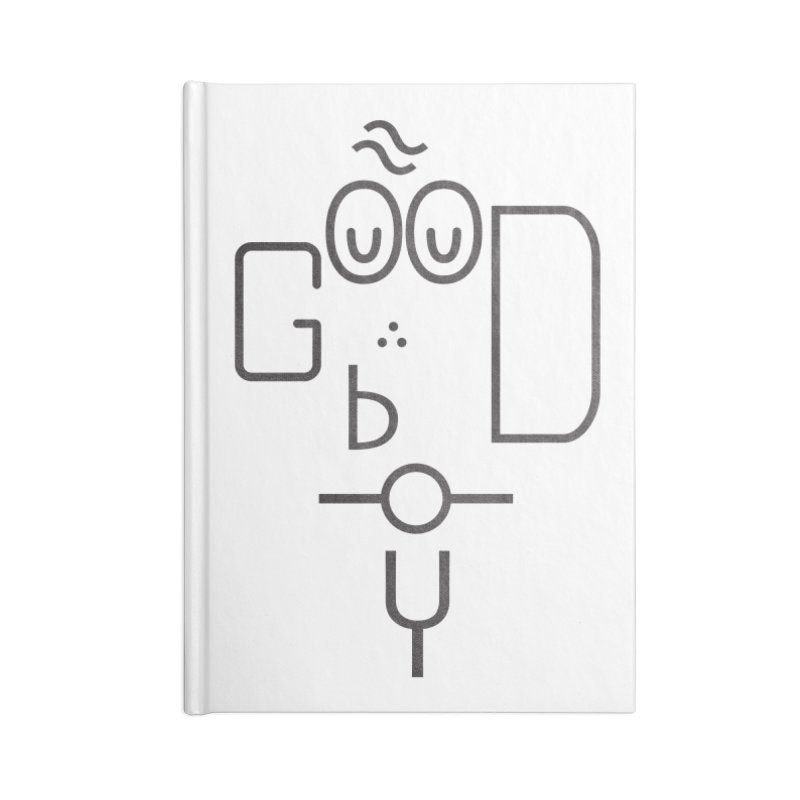Good boy Accessories Lined Journal Notebook by Rodrigobhz