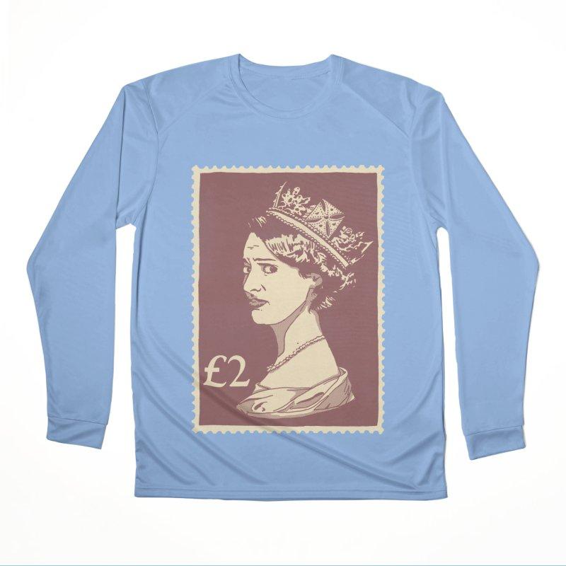 Queen Women's Performance Unisex Longsleeve T-Shirt by Rodrigobhz