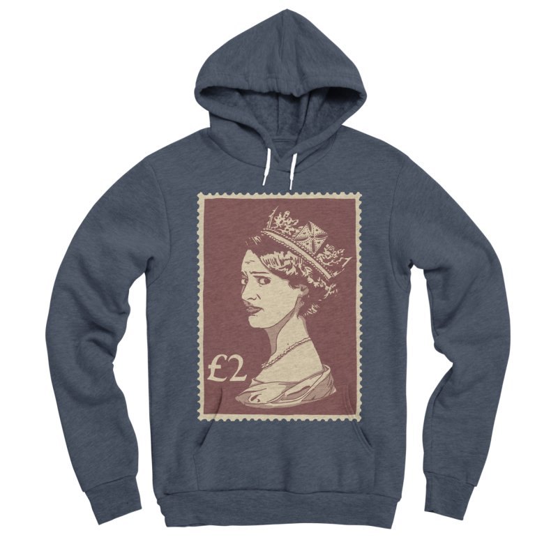 Queen Men's Sponge Fleece Pullover Hoody by Rodrigobhz