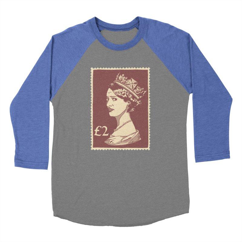 Queen Men's Baseball Triblend Longsleeve T-Shirt by Rodrigobhz