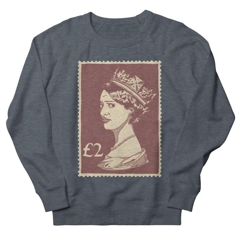 Queen Men's French Terry Sweatshirt by Rodrigobhz