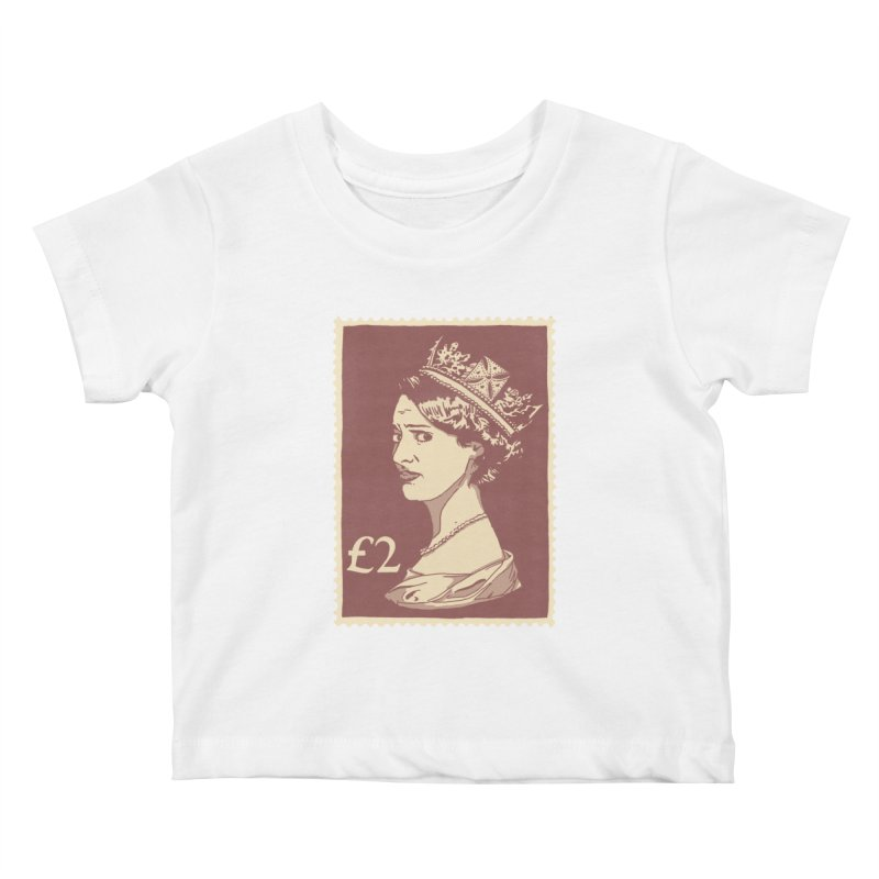 Queen Kids Baby T-Shirt by Rodrigobhz