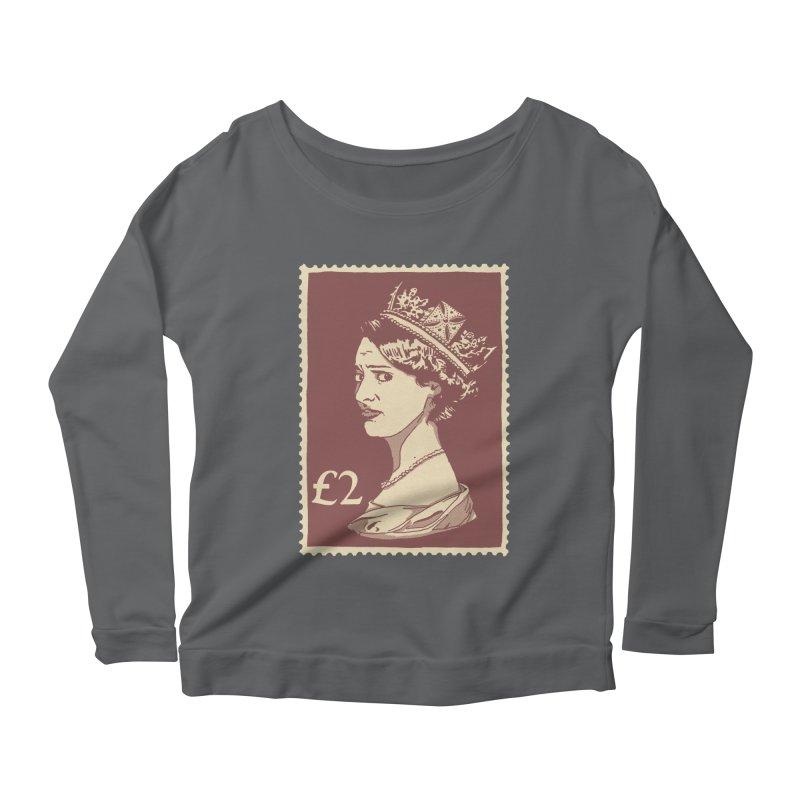 Queen Women's Scoop Neck Longsleeve T-Shirt by Rodrigobhz