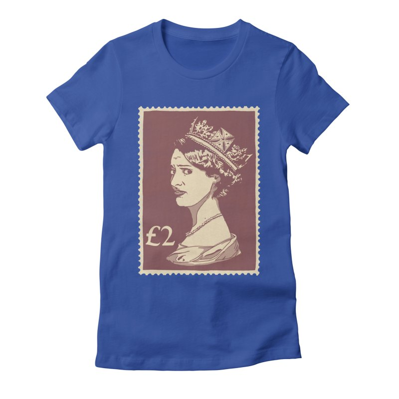 Queen Women's Fitted T-Shirt by Rodrigobhz