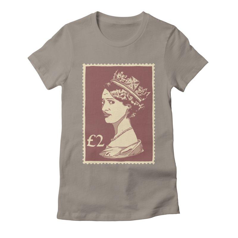 Queen Women's Fitted T-Shirt by Rodrigobhz