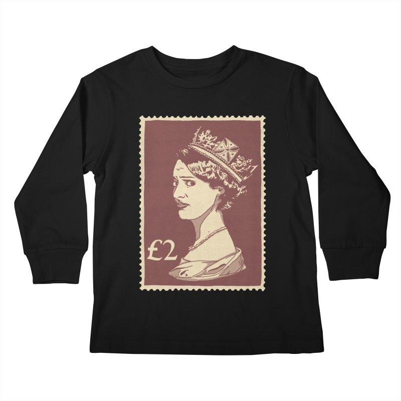 Queen Kids Longsleeve T-Shirt by Rodrigobhz