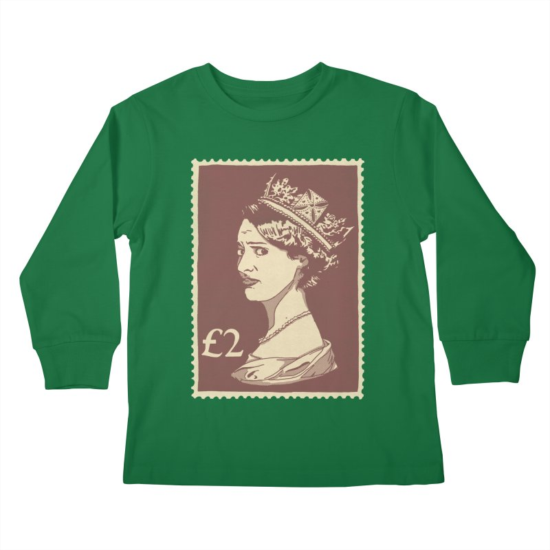 Queen Kids Longsleeve T-Shirt by Rodrigobhz
