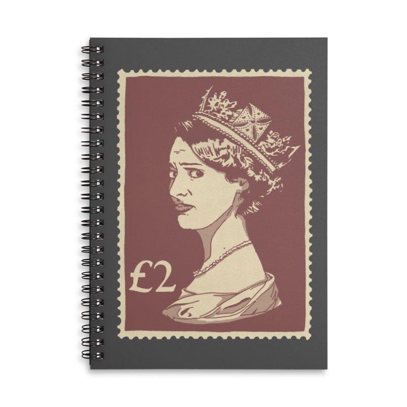 Queen Accessories Lined Spiral Notebook by Rodrigobhz