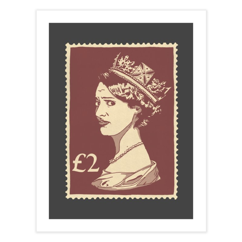 Queen Home Fine Art Print by Rodrigobhz
