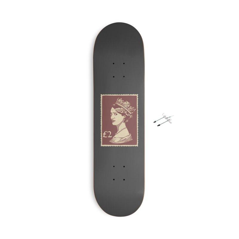 Queen Accessories With Hanging Hardware Skateboard by Rodrigobhz