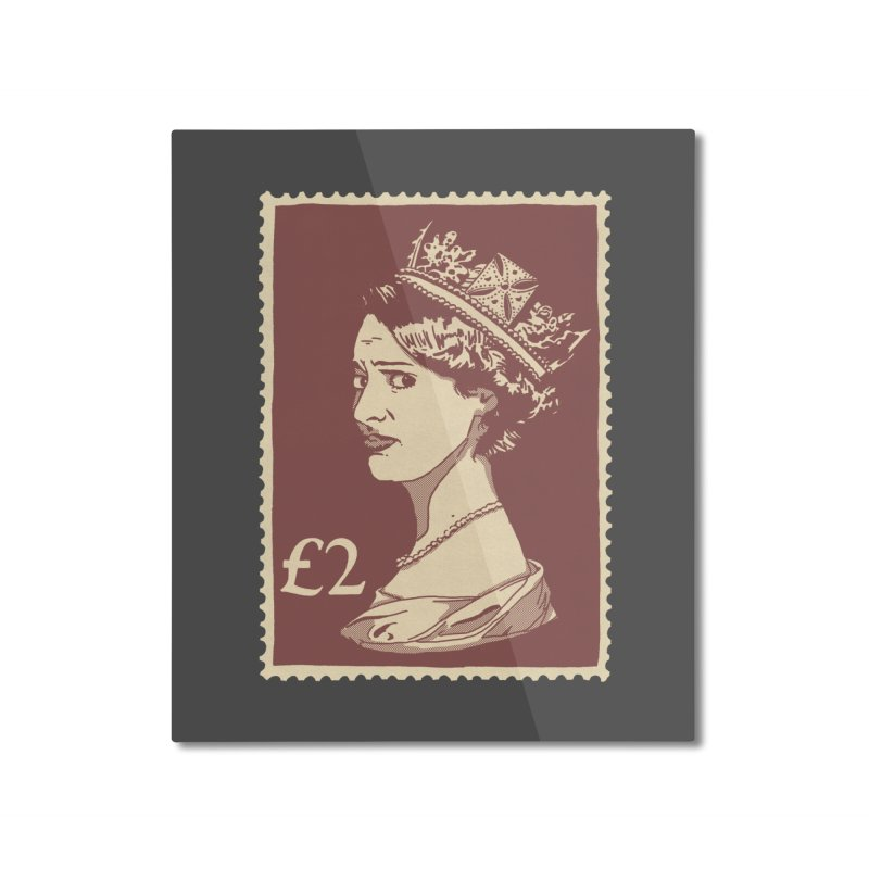 Queen Home Mounted Aluminum Print by Rodrigobhz