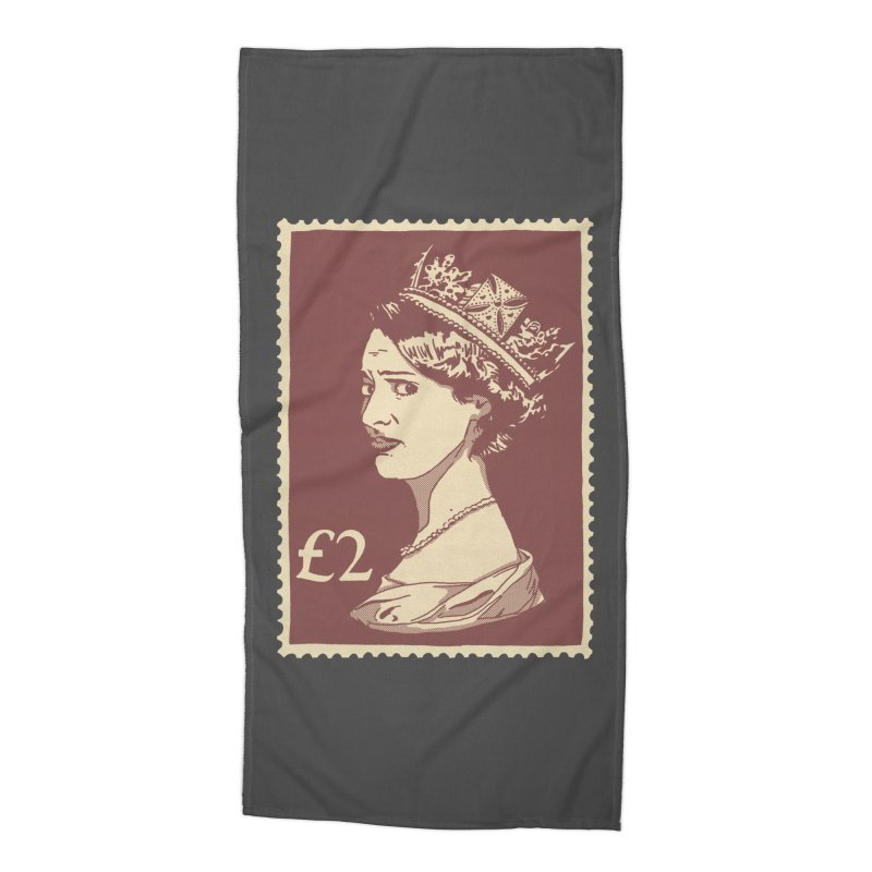 Queen Accessories Beach Towel by Rodrigobhz