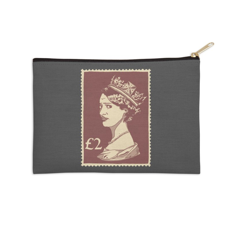Queen Accessories Zip Pouch by Rodrigobhz