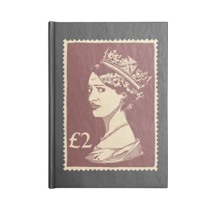 Queen Accessories Lined Journal Notebook by Rodrigobhz