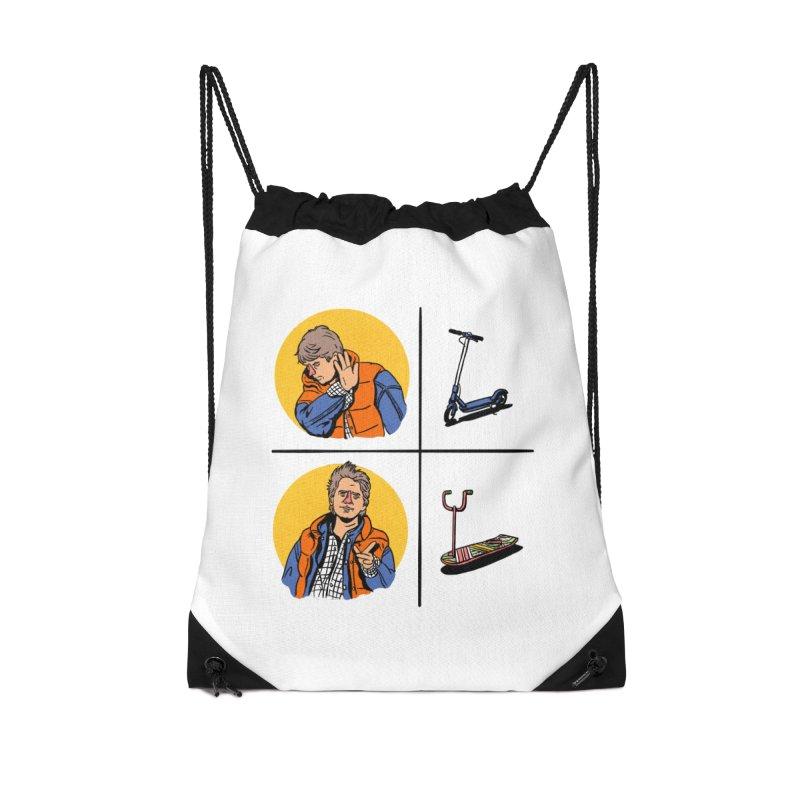 Scooter Accessories Drawstring Bag Bag by Rodrigobhz