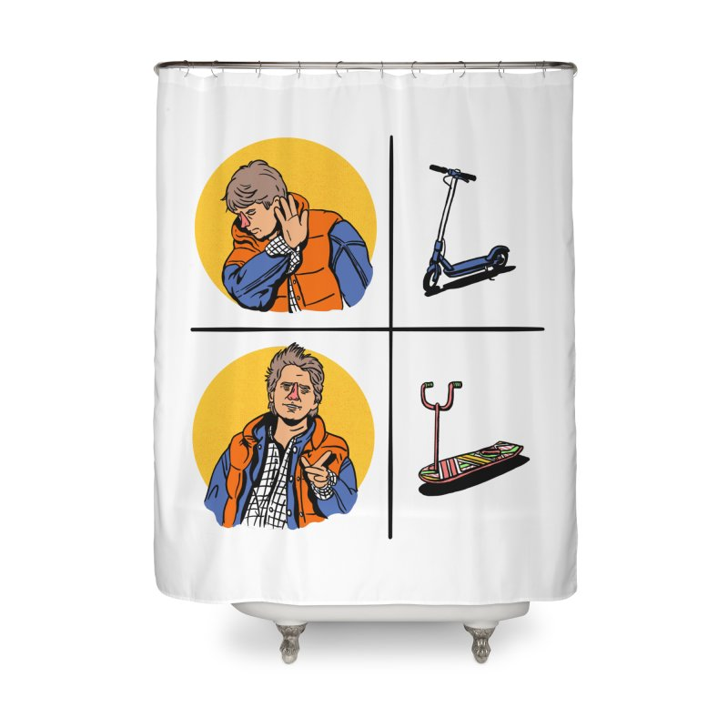 Scooter Home Shower Curtain by Rodrigobhz