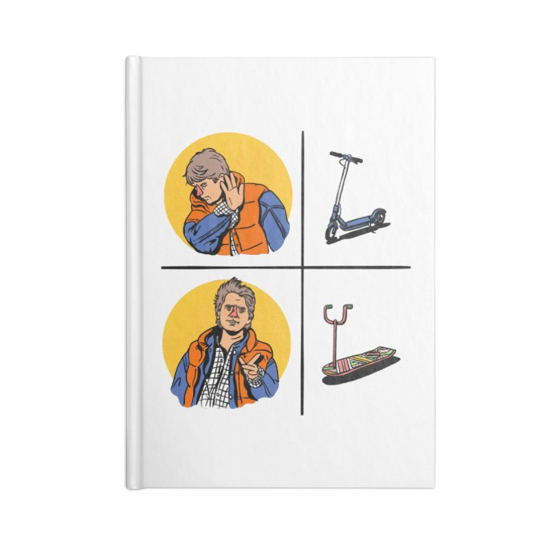 Scooter Accessories Lined Journal Notebook by Rodrigobhz
