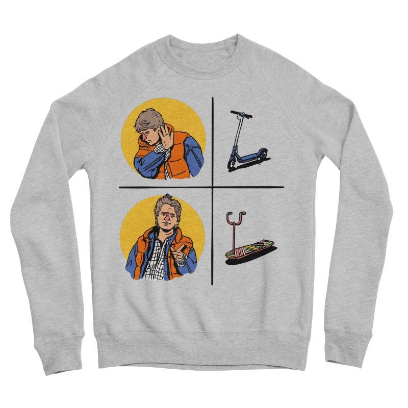 Scooter Women's Sponge Fleece Sweatshirt by Rodrigobhz